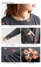 起毛花柄刺繍ワンピース