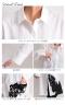 裾アート柄ロングシャツ