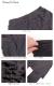 レギンス付きタイトスカート