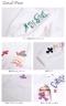手書き風デザイン&パッチワークロゴパーカー