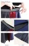 異素材切り替えデサインスカート