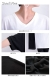 異素材切替えVネック半袖ビックTシャツ