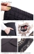 サイドスカーフ柄切替えワイドパンツ