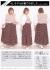 レオパード柄シフォンスカート