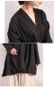 裾タック変形プルオーバーシャツ